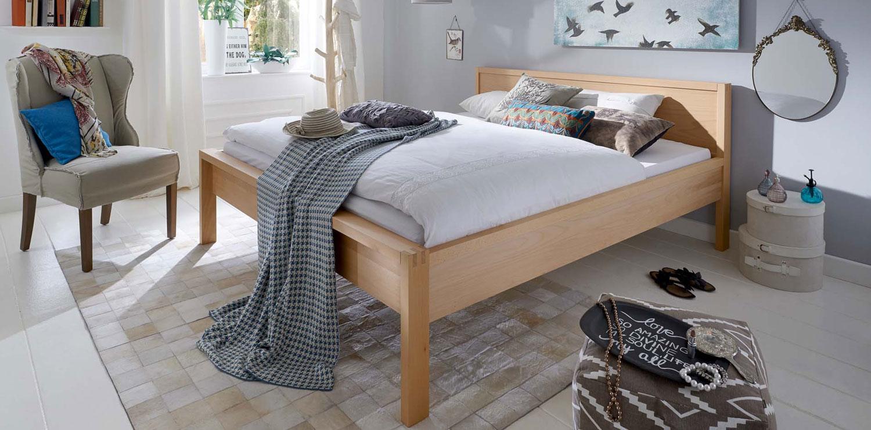 Relax Holzbett ohne Metall