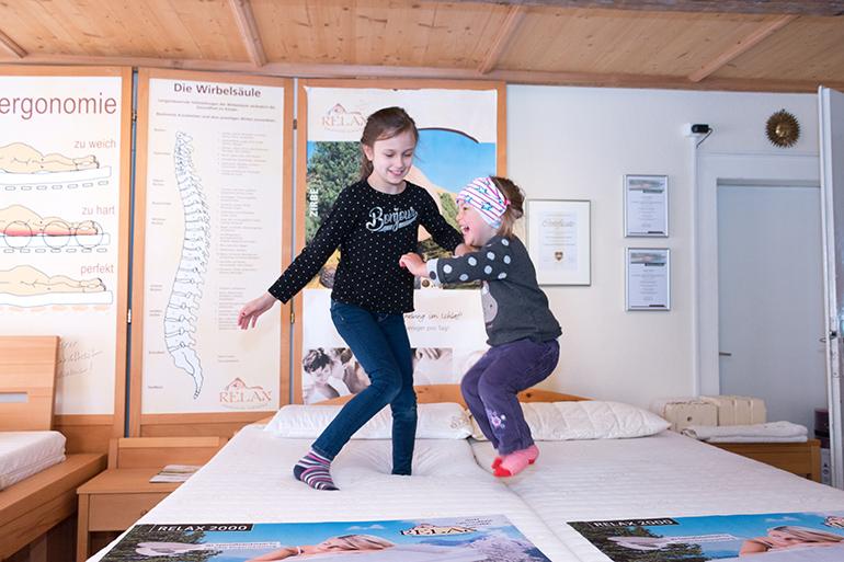 Sit in Rottweil. Kinder Holzbetten/ Matratzen Beratung Relax Bettensystem