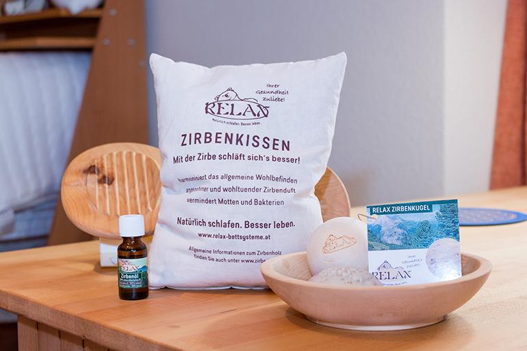 Sit in Rottweil. Holzbetten Zirbenkissen Beratung Relax Bettensystem