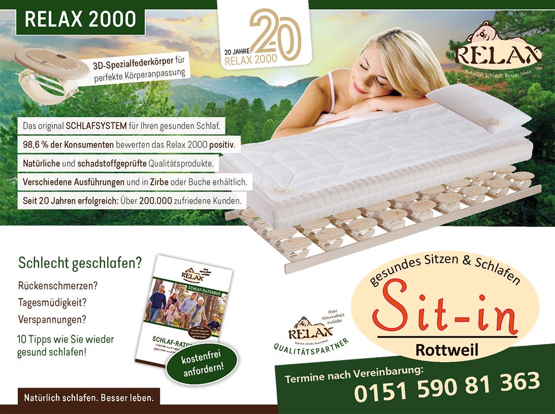 Relax 2000_Lattenrost_gesundes_schlafen